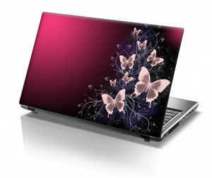 Butterfly Laptop Skin