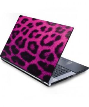 Pink Leopard Laptop Skin