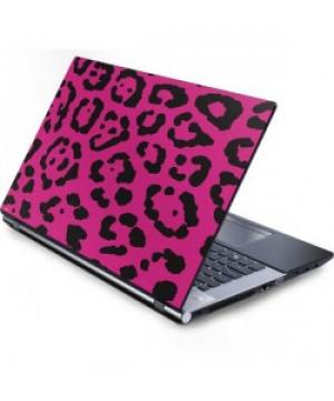 Rosy Leopard Laptop Skin
