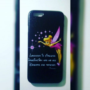 Tinkerbell quote phone case