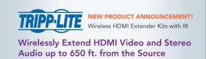 Demonstration of HDMI extender for HD screens - Ticket