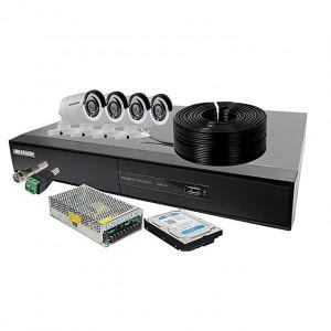 HikVision HD-4 Camera full installation